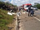 Trecho da BR-265 em Barroso é liberado depois de acidente