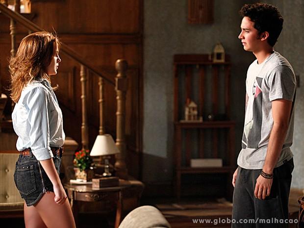 Anita desiste de lutar por seu amor e termina namoro com Ben (Foto: Malhação / TV Globo)