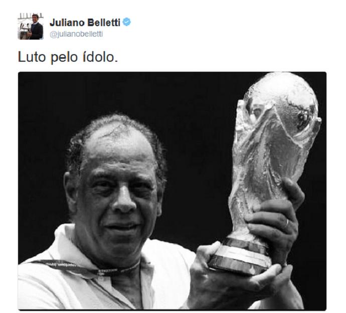 Belletti Carlos Alberto Torres (Foto: Reprodução/Twitter)