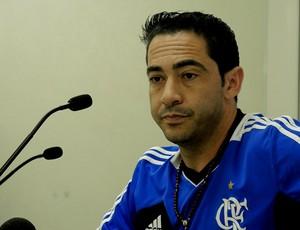 Chicão treino Flamengo (Foto: Cahê Mota)