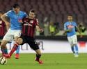 Três gols em seis minutos decretam vitória do Napoli sobre o Milan