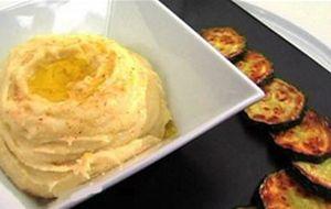 Cozinha Mediterrânea: purê de batatas e abobrinha frita