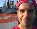 Iguana invade quadra e paralisa jogo do Masters de Miami, confira o vídeo