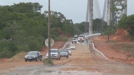 Ponte Binacional é aberta para simulação de órgãos de segurança