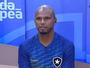 """Jefferson concentra no Botafogo com Seleção na mira: """"Tite me conhece"""""""