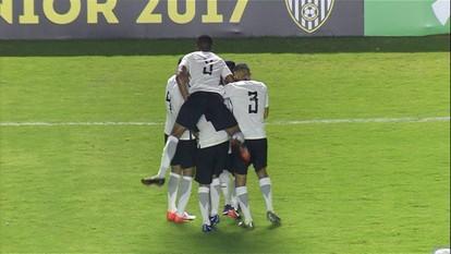 Os gols de Corinthians 3 x 1 Internacional pela Copa São Paulo de Futebol Junior
