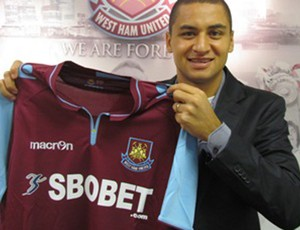 Wellington Paulista, do West Ham (Foto: Reprodução / Site Oficial do West Ham)