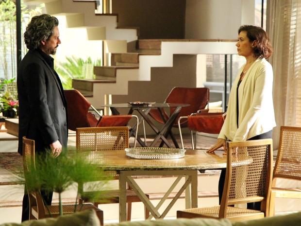 José Alfredo quer o divórcio (Foto: Carol Caminha/TV Globo)