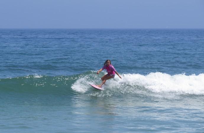 Jessica Bianca em ação nos Jogos Cariocas de Verão (Foto: Eu atleta)