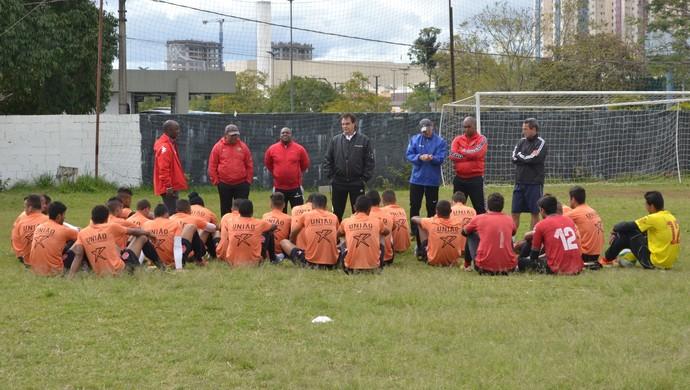 Treino União Mogi Segunda Divisão Paulista 2014 (Foto: Cauê Maldonado)