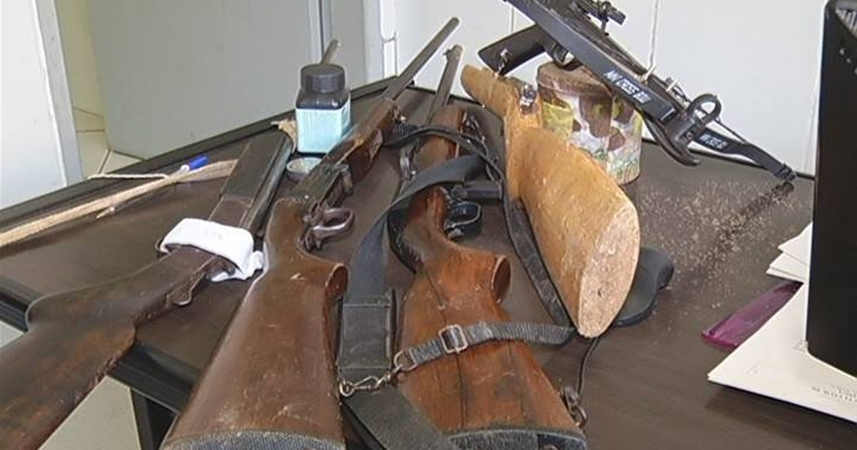 Polícia apreende 19 armas em operação em Santana do Paraíso - Globo.com