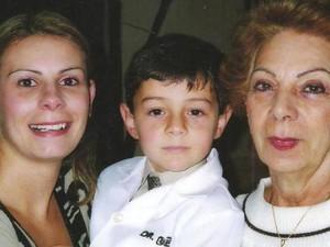 Avó de Bernardo tenta reabrir caso da morte da filha desde o ano passado (Foto: Arquivo pessoal)