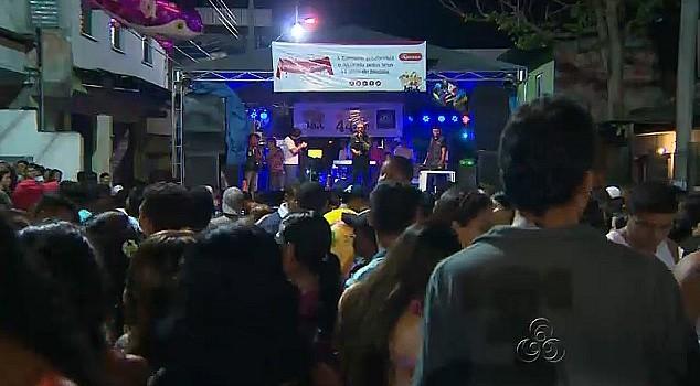Vários ritmos animaram a festa e o público presente (Foto: Bom dia Amazônia)