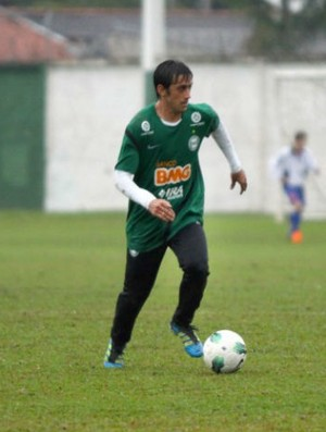 Robinho treina no Coritiba (Foto: Divulgação / Coritiba)
