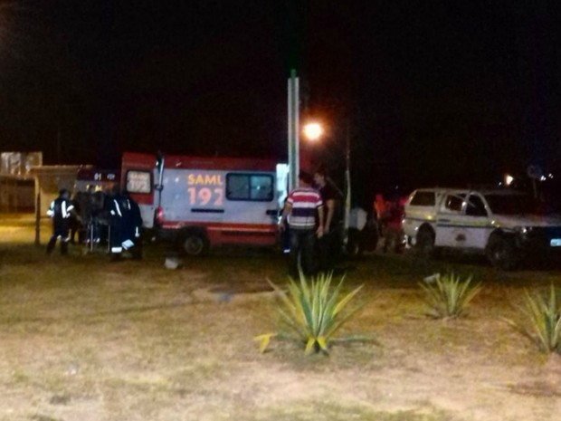 Presos foram atendidos por ambulâncias do Samu (Foto: Arquivo pessoal)