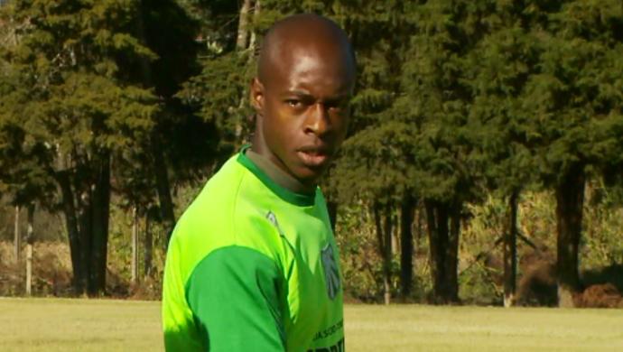 Paulão zagueiro Caldense (Foto: Reprodução EPTV)