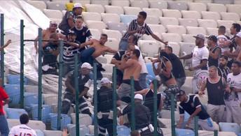 Justiça decreta prisão preventiva de torcedores do Timão envolvidos em briga no Maracanã