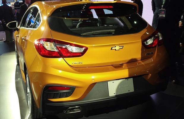 Chevrolet Cruze hatch no Salão de Detroit 2016 (Foto: Michelle Ferreira/Autoesporte)