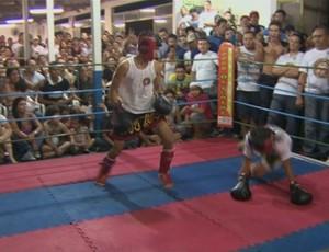 1º Campeonato de Muay Thai em Porto Velho, Rondônia (Foto: Reprodução TV RO)