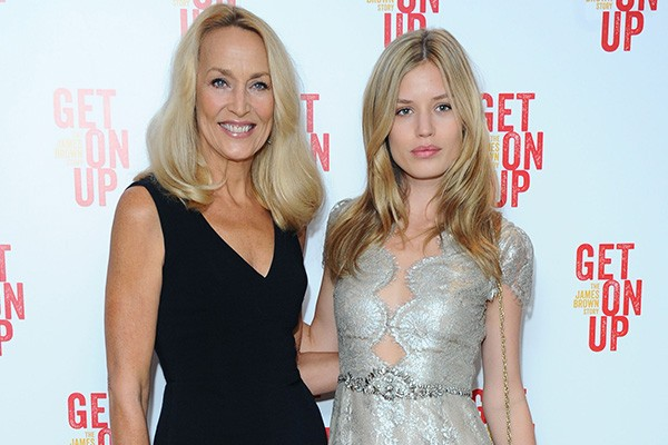 Jerry Hall e Georgia May Jagger (Foto: Getty Images)