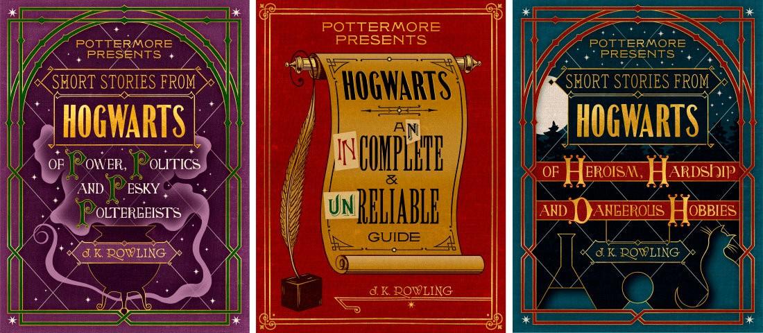 Capas dos novos livros de J.K. Rowling (Foto: Divulgação)