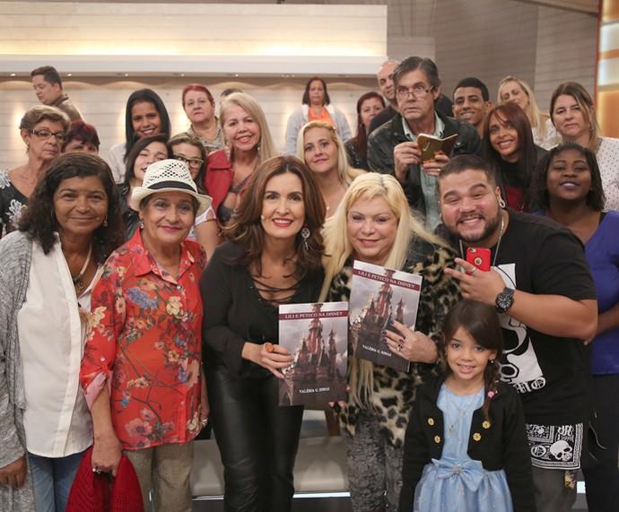 Mais plateia! (Foto: Isabella Pinheiro/Gshow)