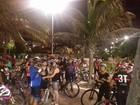 Ciclistas de Maceió protestam após 2º atropelamento com morte em 15 dias