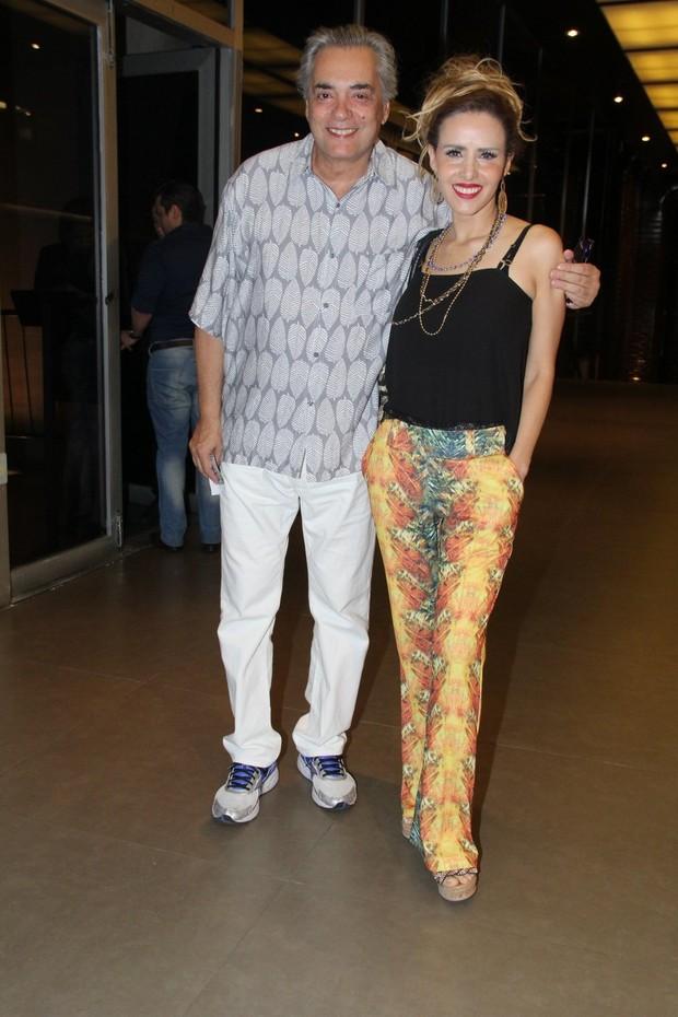 José Rubens Chachá e Leona Cavalli (Foto: Alex Palarea/AgNews)