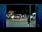Protesto de motoristas de vans causa lentidão em rodovia de Rio das Ostras