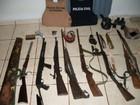 Polícia apreende armas alugadas a quadrilhas do sudoeste do Paraná