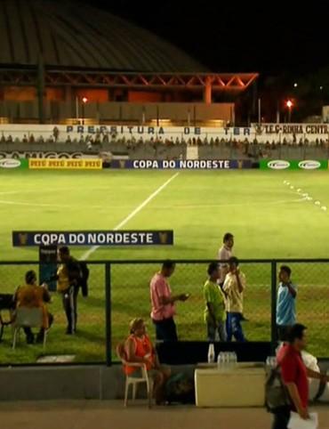 Estádio Lindolfo Monteiro, River-PI x Juazeirense  (Foto: TV Clube)