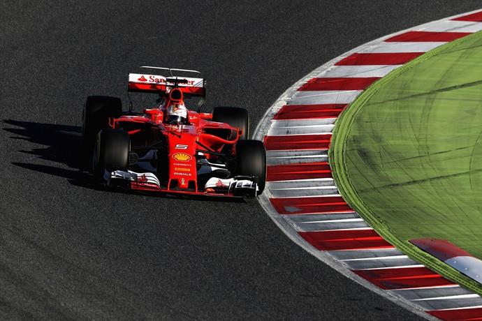 Sebastian Vettel, fórmula 1, ferrari (Foto: Getty Images)