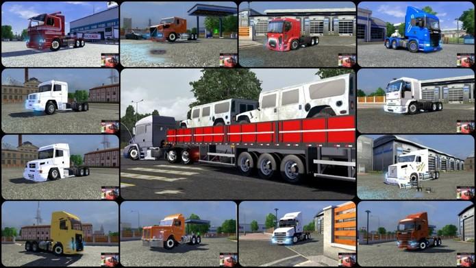Euro Truck Simulator 2 mod (Foto: Reprodução)