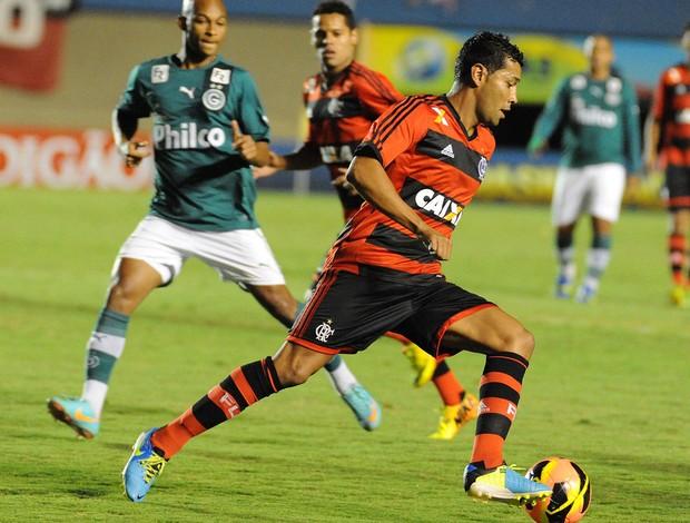 André Santos Goiás x Flamengo (Foto: Alexandre Vidal / Flaimagem)