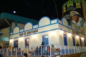 Casa de Gonzagão em Campina Grande  (Foto: Divulgação/Codecom-CG)