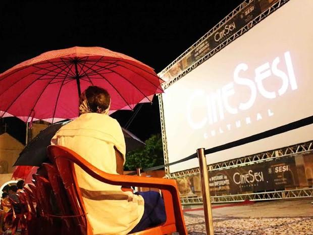 População poderá assistir longas e curtas-metragens no interior de Alagoas (Foto: Fernando Vitral/Divulgação)