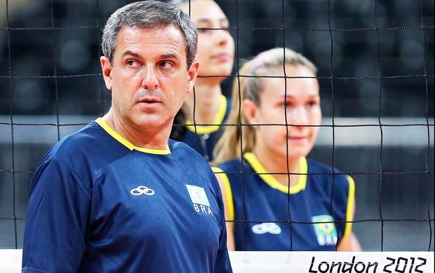 José Roberto treinador do Vôlei Brasileiro (Foto: Agência Reuters)