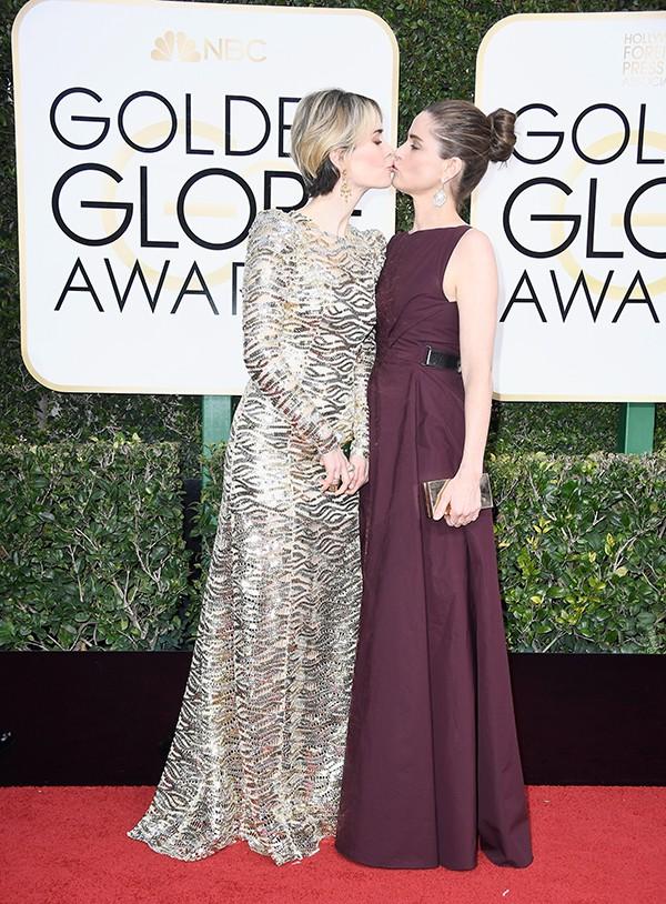 Sarah Paulson e Amanda Peet (Foto: Getty Images)
