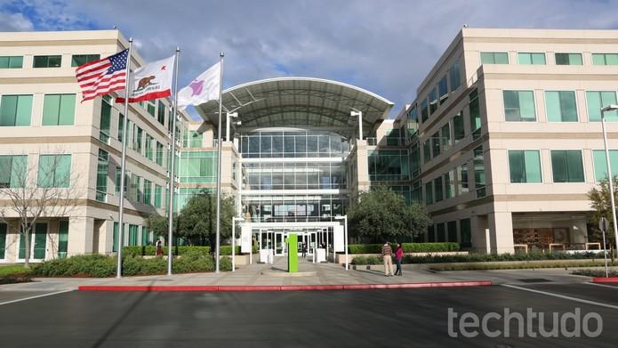 Sede da Apple em Cupertino, nos Estados Unidos (Foto: Thássius Veloso/TechTudo)