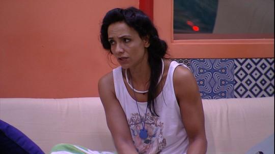 Marinalva diz que não gostou do que Marcos falou para Rômulo: 'Tremenda falta de respeito'