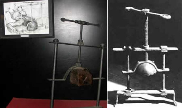 O Esmaga Cabeças, mais um artefato extremamente brutal (Foto: Reprodução)