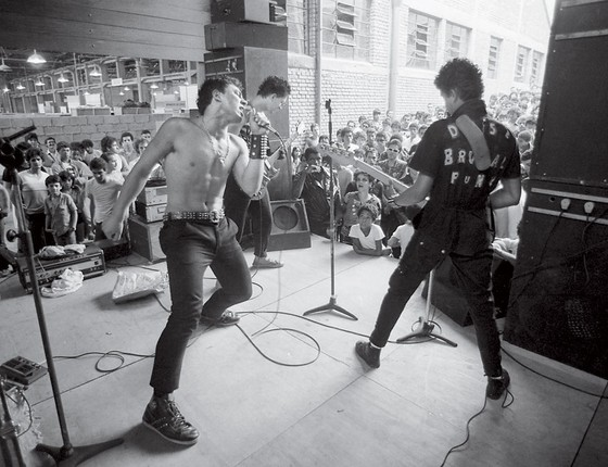 Festival Punk O Fim do Mundo (Foto: ROLANDO DE FREITAS/ESTADÃO CONTEÚDO)