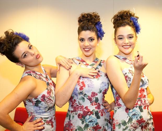 Cluster Sisters look Top 10 (Foto: Dafne Bastos/TV Globo)