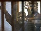 Ex-presidente do Egito faz greve de fome na prisão