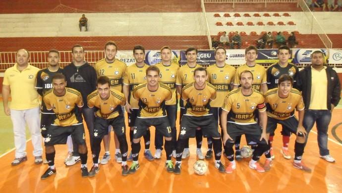 Equipe Pequeri Copa TV Integração de Futsal (Foto: Copa TV Integração de Futsal/Divulgação )