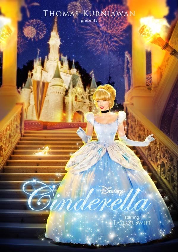 Taylor Swift como Cinderela (Foto: Thomas Kurniawan)