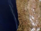 Fumaça de incêndio em Valparaíso é registrada por satélite da Nasa