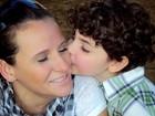 Mãe de filho autista dá lição de dedicação (Arquivo pessoal/Nayne Tamy)