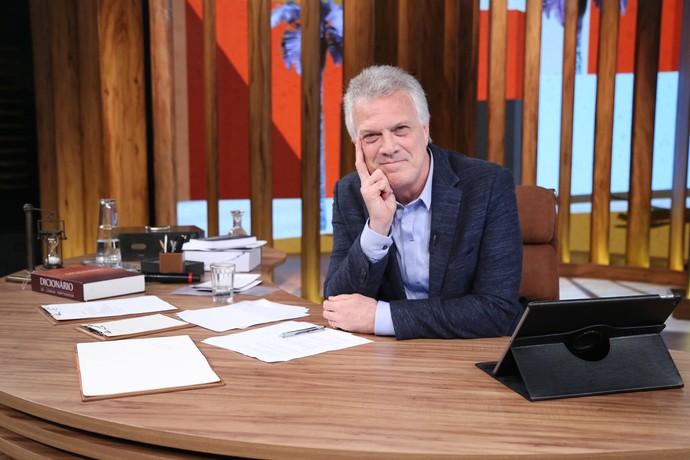 Pedro Bial retorna à telinha para o 'Conversa com Bial' (Foto: Carol Caminha/Gshow)
