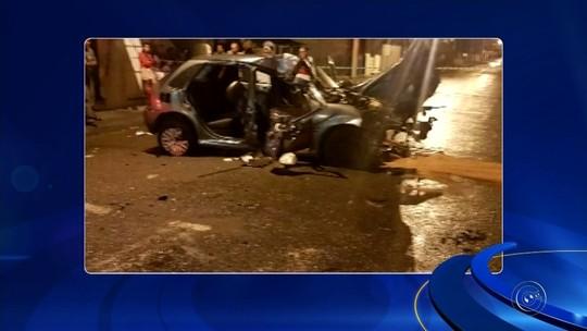 Vídeo mostra momento da batida que causou morte de jovem em Assis